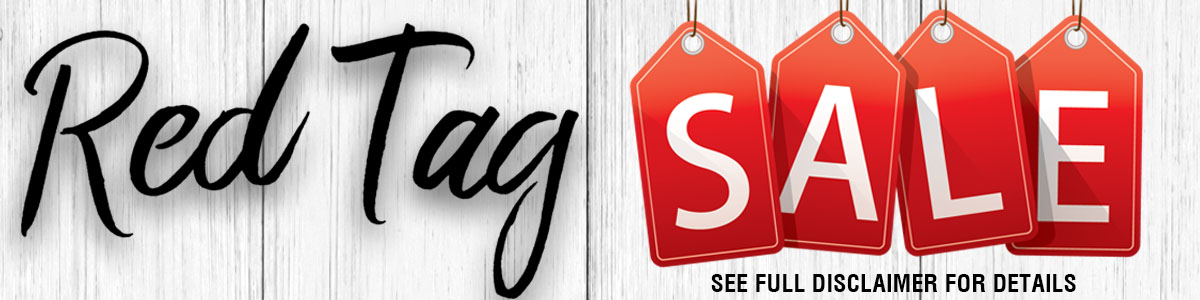 Red Tag Promo Web Banner